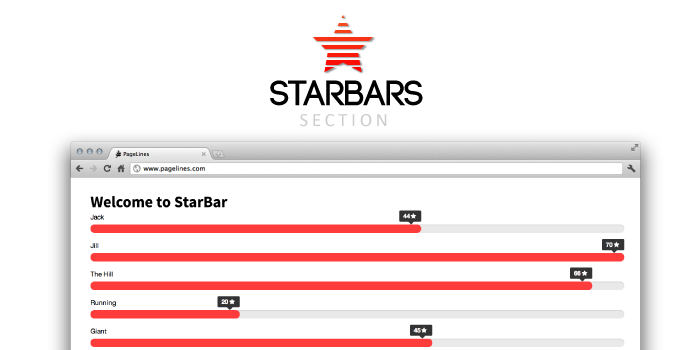 StarBars - PageLines Plugin