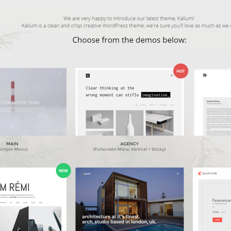 Kalium Theme for WordPress and PageLines