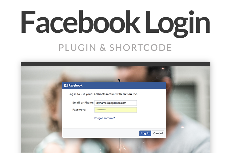 Facebook Login Screenshot