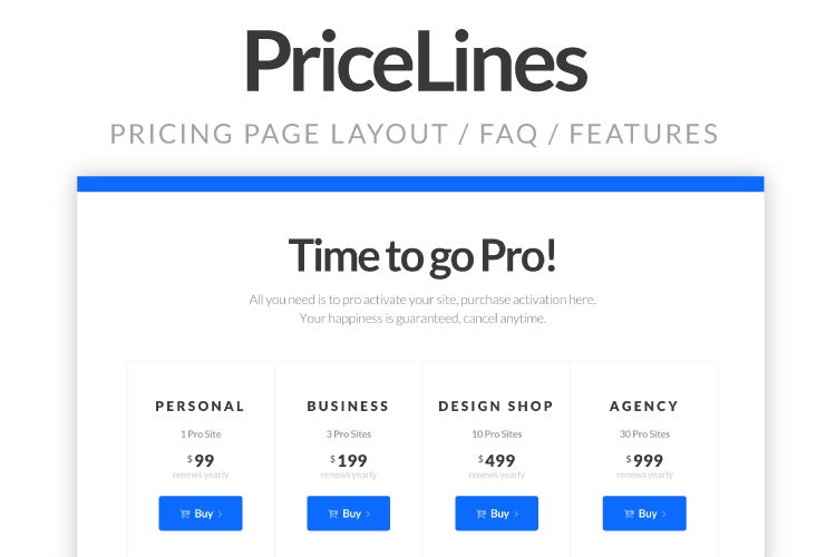 PriceLines Screenshot