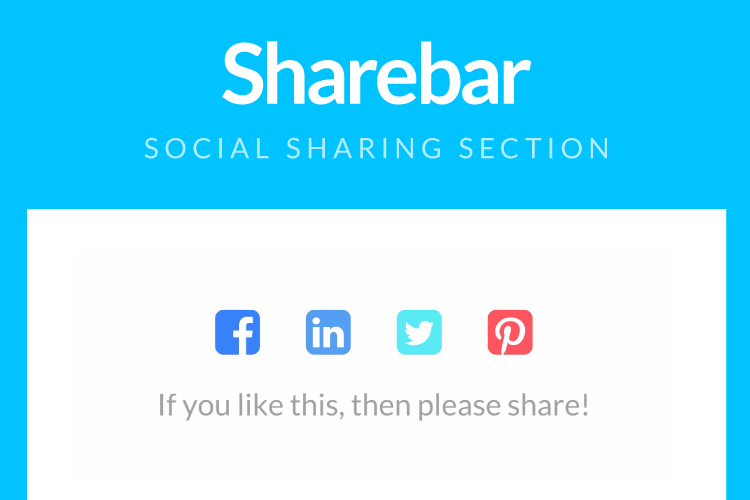 ShareBar Screenshot